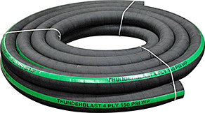 "4-Ply Blast Hose - 3/4"" ID - 50FT"
