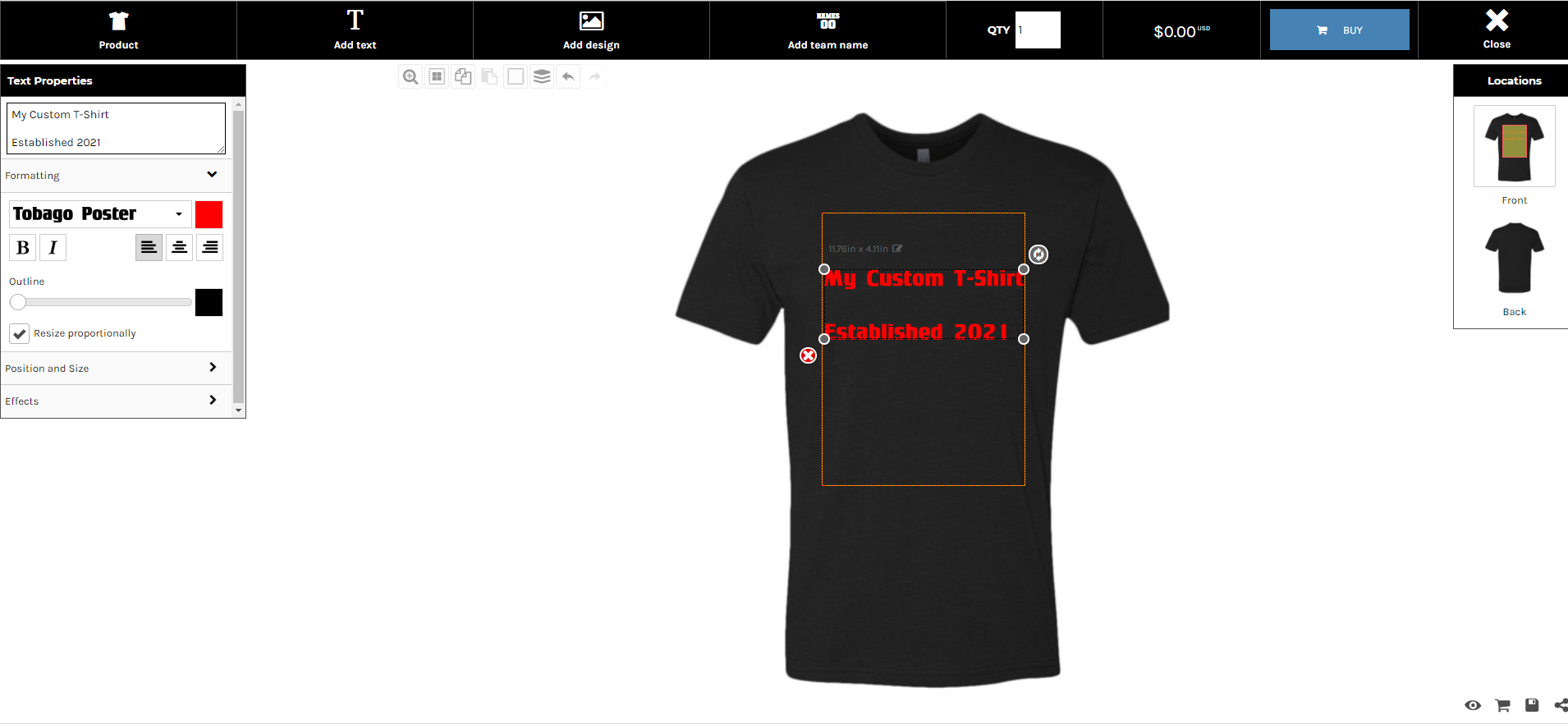 Create Your Own Custom Graphic T Shirts and Apparel