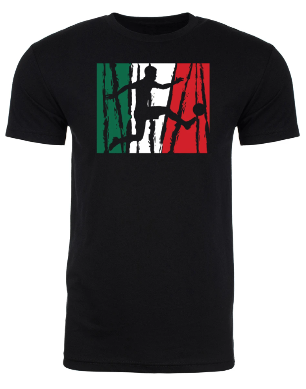 Mato & Hash Mexico Soccer Pride Mens T Shirts - Unisex - CONCACAF Gold Cup 2021