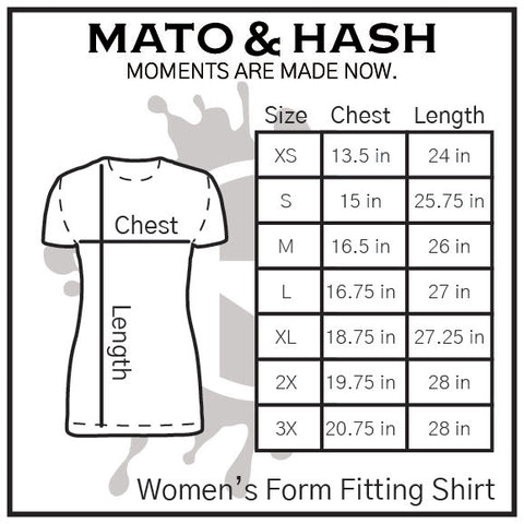 Mato & Hash MH200W size chart - update sizes later