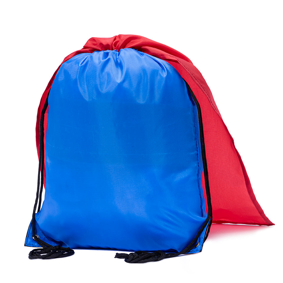 Cape Polyester Drawstring Bag