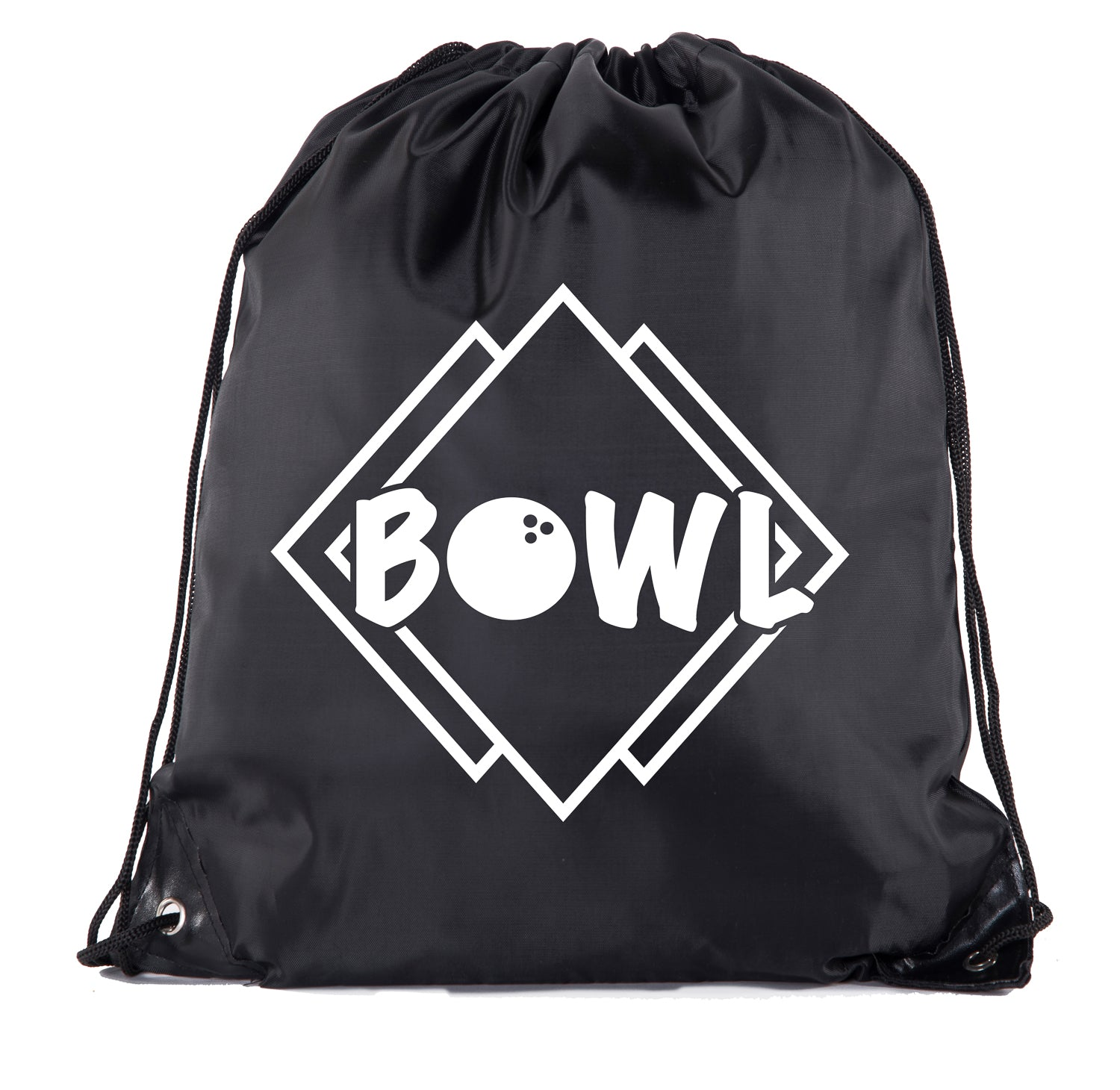 Accessory - Mato & Hash Drawstring Bowling Bag | Bowling Cinch Bags For Leagues And Parties! - Retro