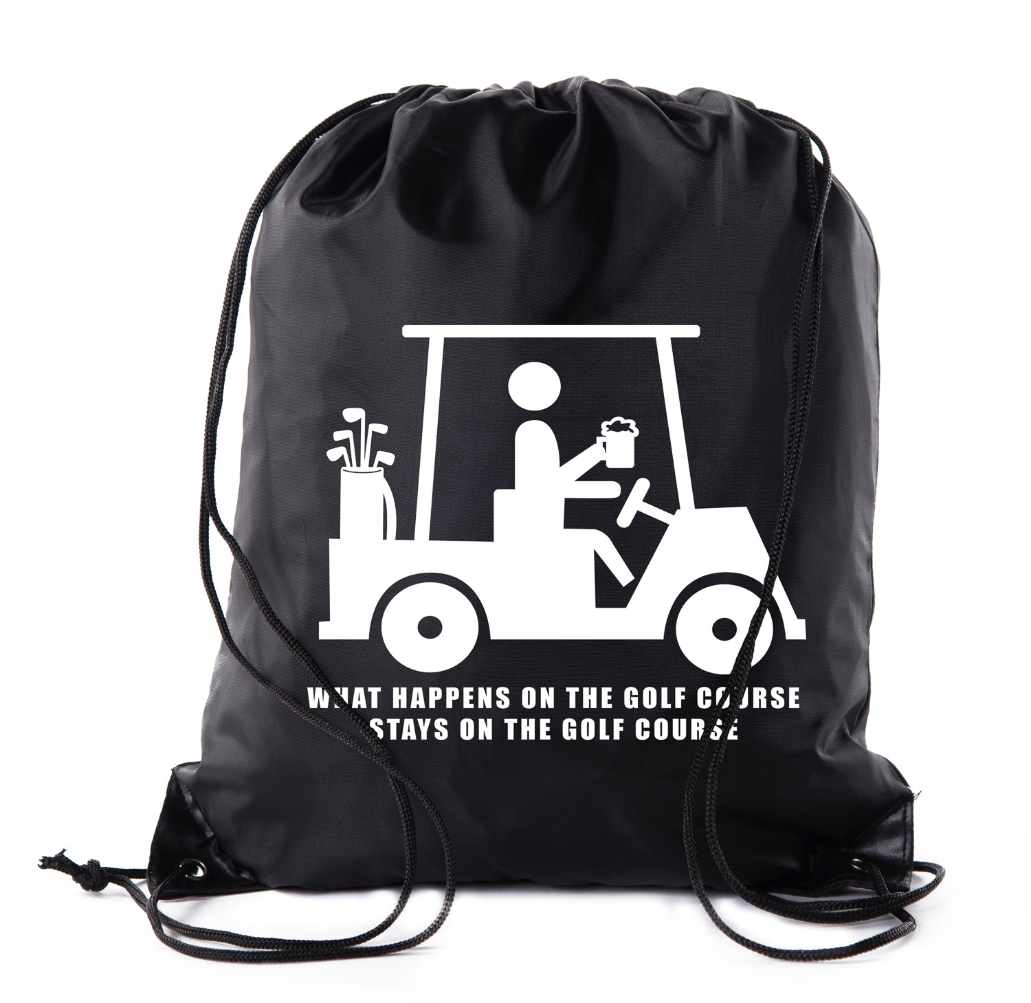 Accessory - Mato & Hash Golf Bags, Drawstring Golf Bags For Leagues, Parties And More! - Stays On Course