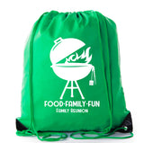 Accessory - Family Reunion Gift Bags For Family Reunion Favors | Drawstring Bags - Mato & Hash - Food Family Fun