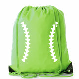 Ball Laces Polyester Drawstring Bag