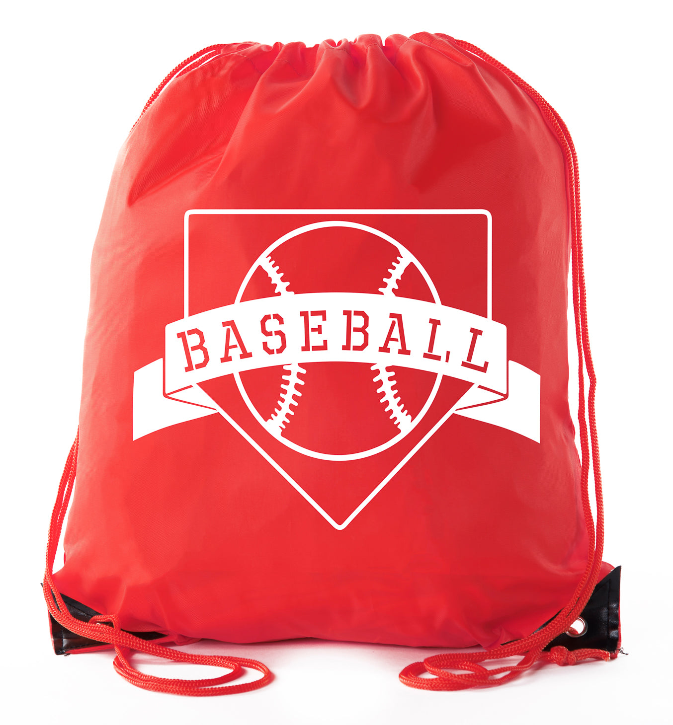 Accessory - Mato & Hash Boys Drawstring Backpack Baseball Bags 1-10 Pack Bulk Options - Home Plate