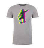 Shirt - Soccer Player Kicking Ball, Men's Soccer Shirt, Graphic Sports T-shirts