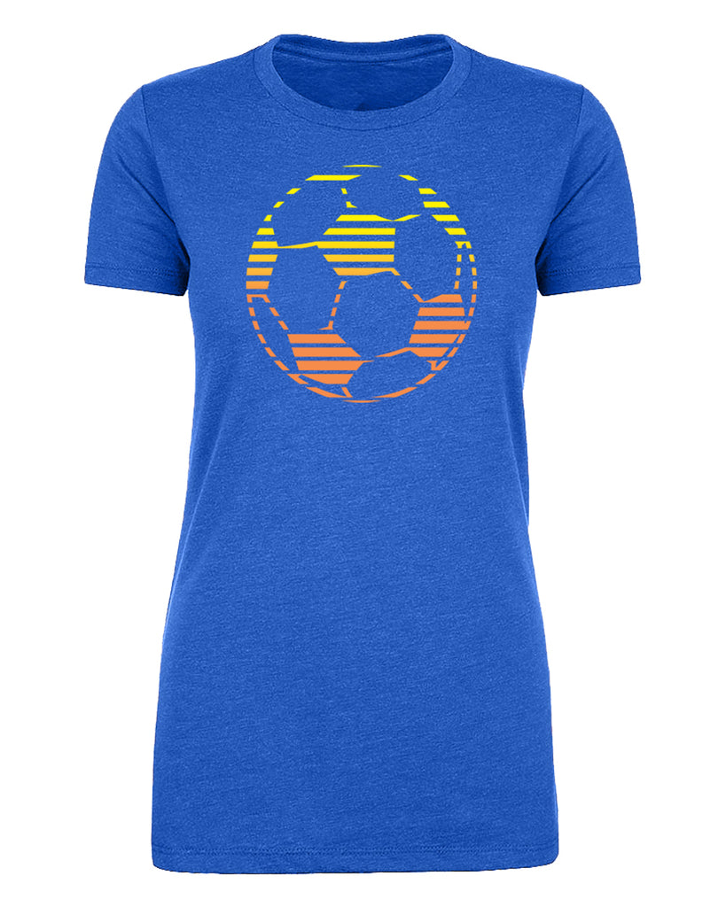 Shirt - Soccer Ball Sun, Women's Soccer Shirts, Cute Soccer Shirts