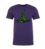 You Coulda Had a Bad Witch Text in Hat Mens T Shirts