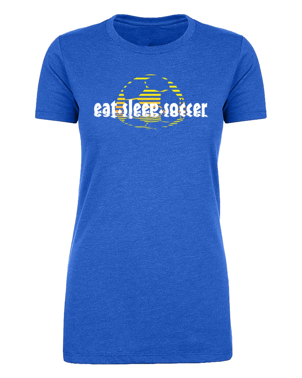 Shirt - Eat Sleep Soccer Sunset, Graphic T-shirts, Women's Soccer T Shirts