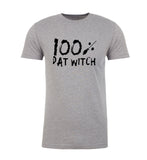 Shirt - 100% Dat Witch T-shirts, Men's Graphic Tees, Funny Halloween Shirts Mens