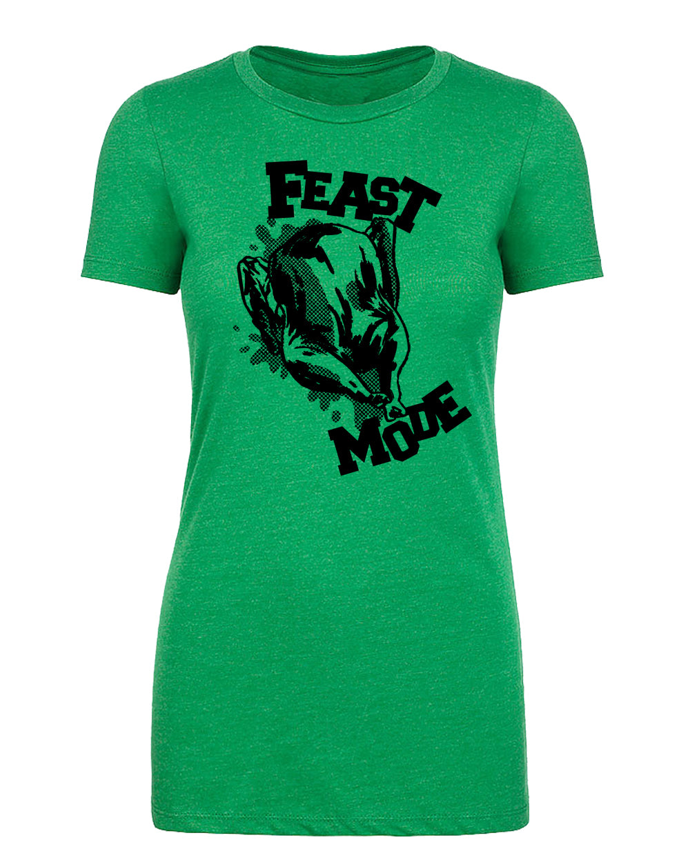 Turkey Feast Mode Womens T Shirts