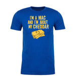 Shirt - I'm A Mac About That Cheddar Men's T-shirts, Funny Graphic T-shirts