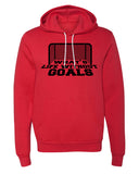 Sweater - What's Life Without Goals Funny Soccer Hoodies, Unisex Graphic Hoodies