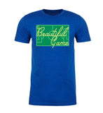Shirt - The Beautiful Game Men's Soccer Shirts, Graphic T-shirts, Soccer Pitch Shirt