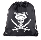 Accessory - Pirate Drawstring Backpacks| Pirate Party Loot Goody Bags For Birthdays, And More!