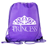 Accessory - Princess Drawstring Backpacks| Cinch Princess Party Favor Goody Bags For Birthdays + More!