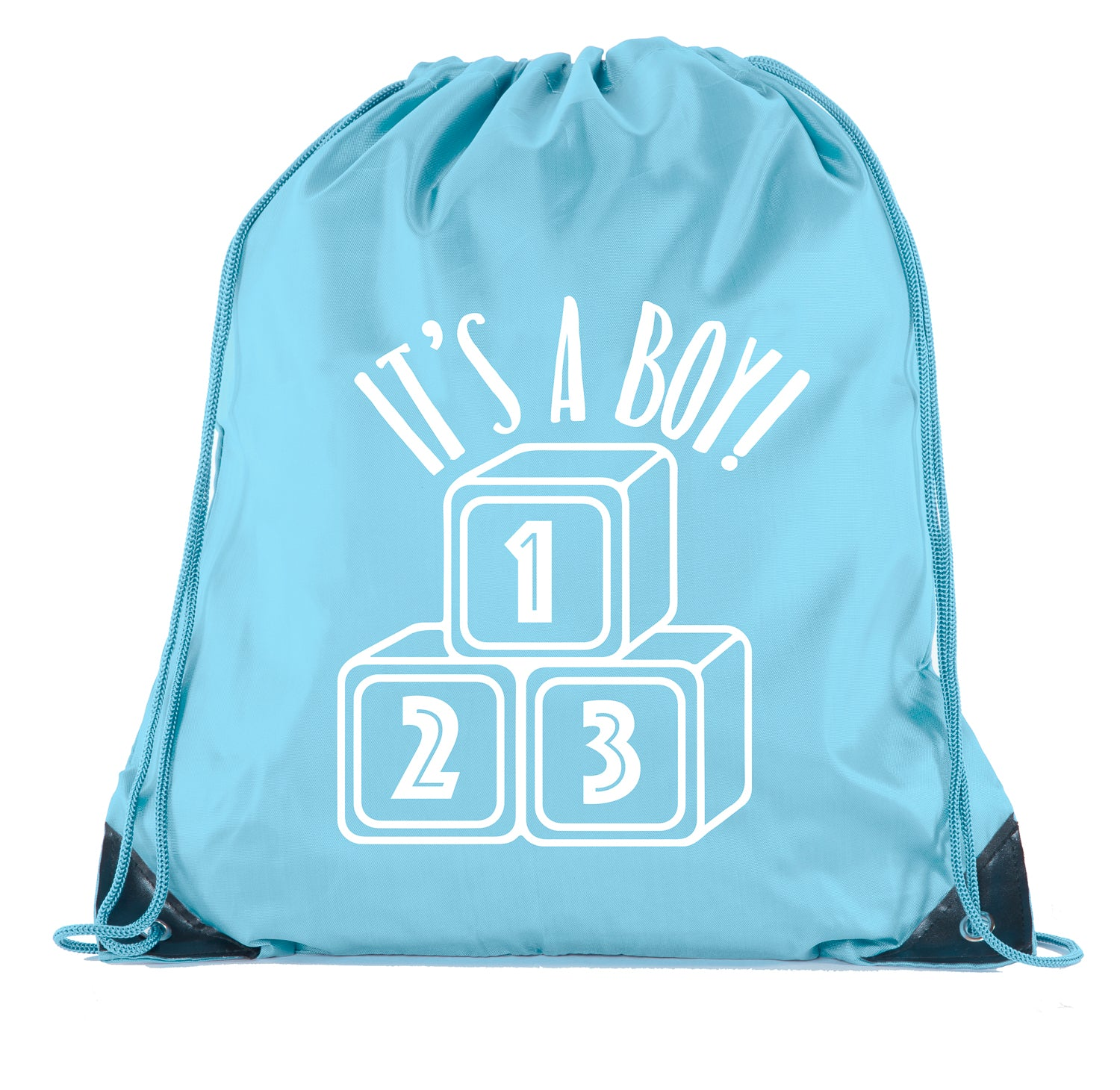 Accessory - Baby Shower Party Favors Favor| Baby Shower Drawstring Backpacks, Baby Shower Favors For Gender Reveal - It's A Boy