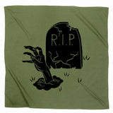 Zombie Graphic Hanging Halloween Flag Decoration