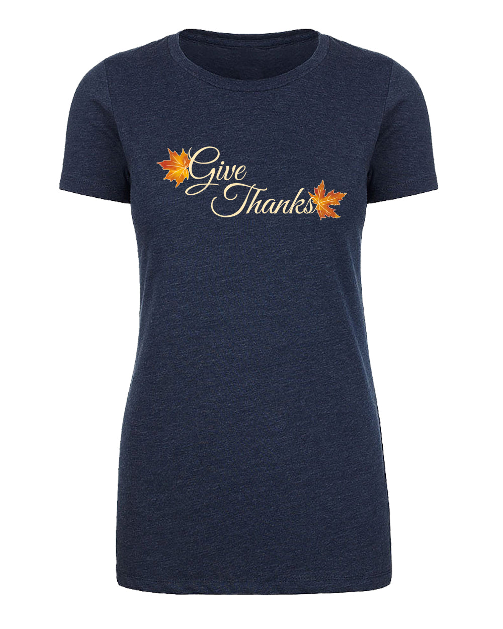 Shirt - Give Thanks Women's Thanksgiving Shirts
