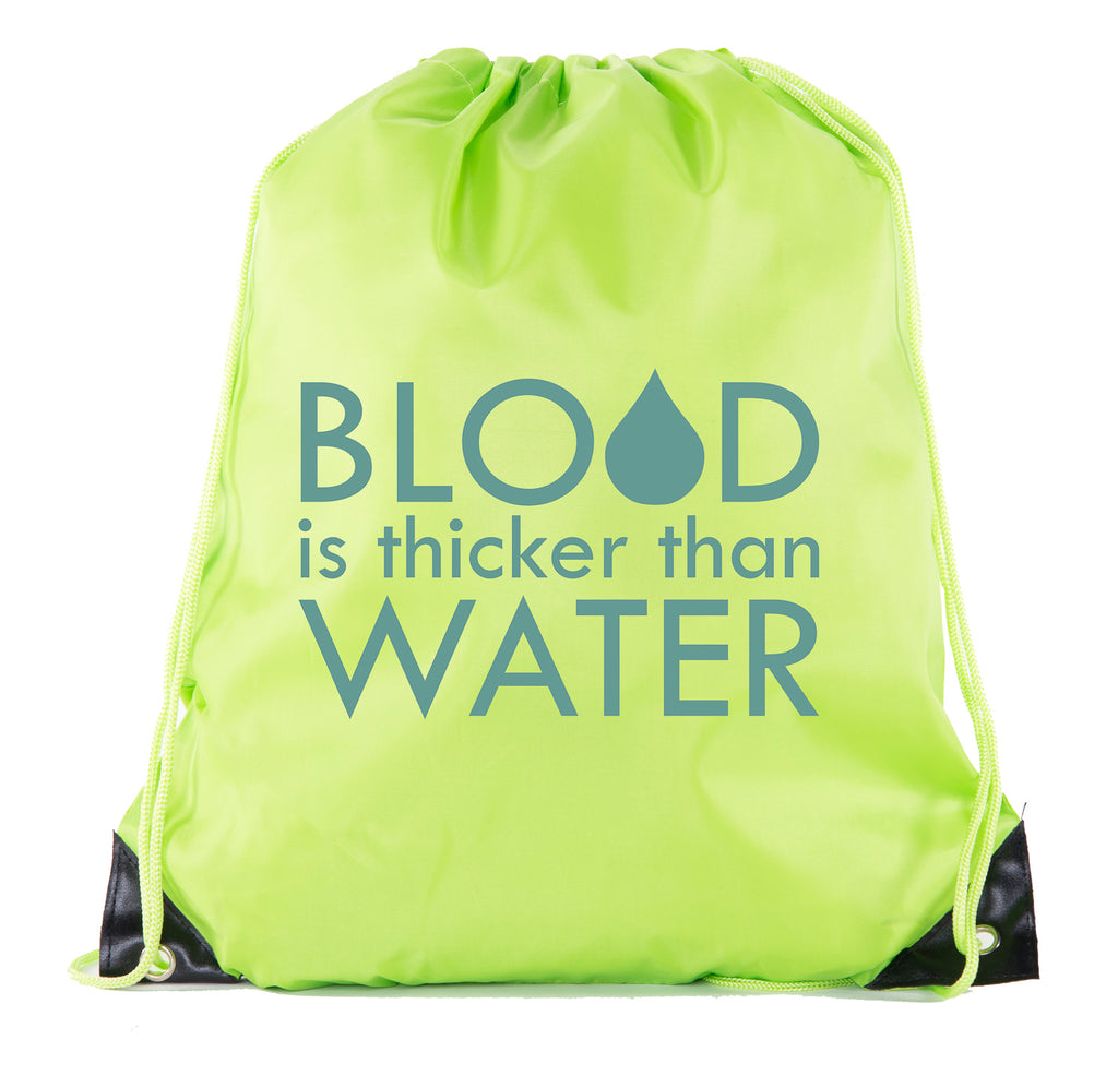 Accessory - Blood Is Thicker Than Water - Family Reunion Party Favor Bags