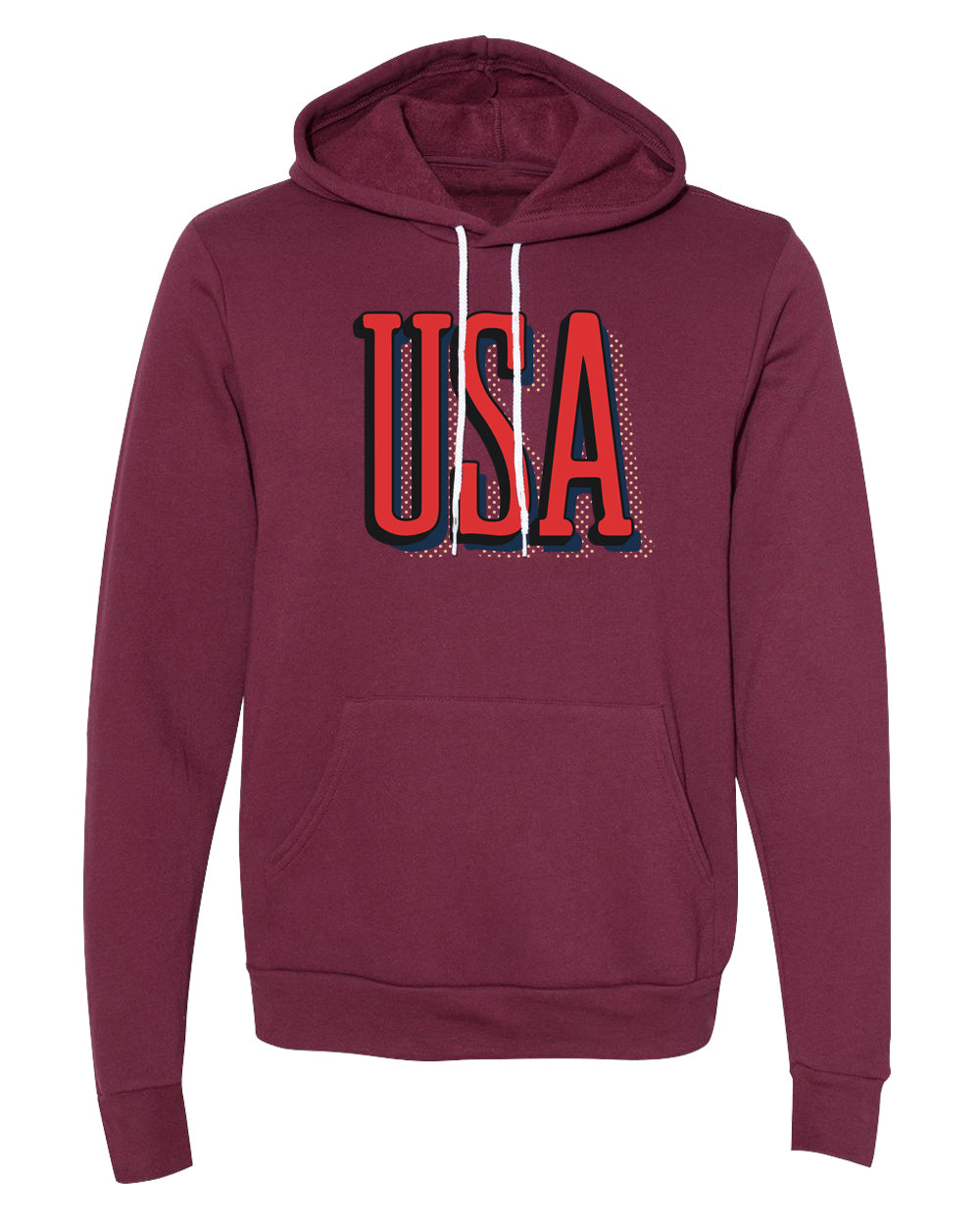 Sweater - USA Patriot Hoodie, 4th Of July Sweater, Unisex Graphic Hoodies