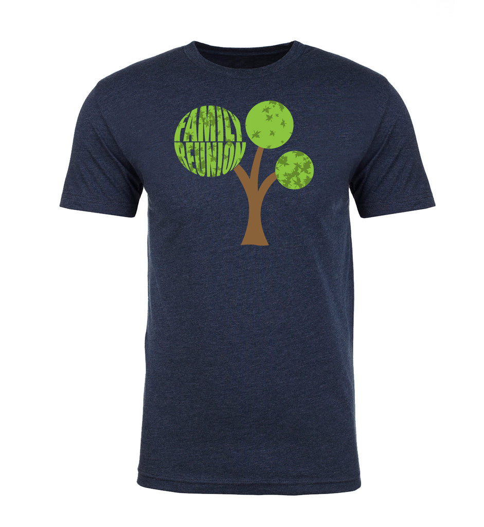 Shirt - Family Reunion Tree With Year- Family Reunion Men's T-shirts