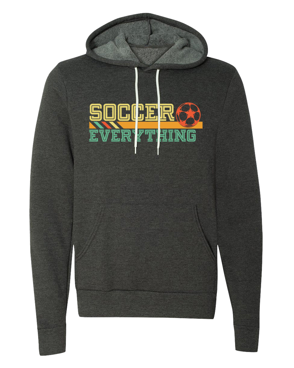 Sweater - Soccer Is Everything, Unisex Hoodies Soccer Hooded Sweatshirts