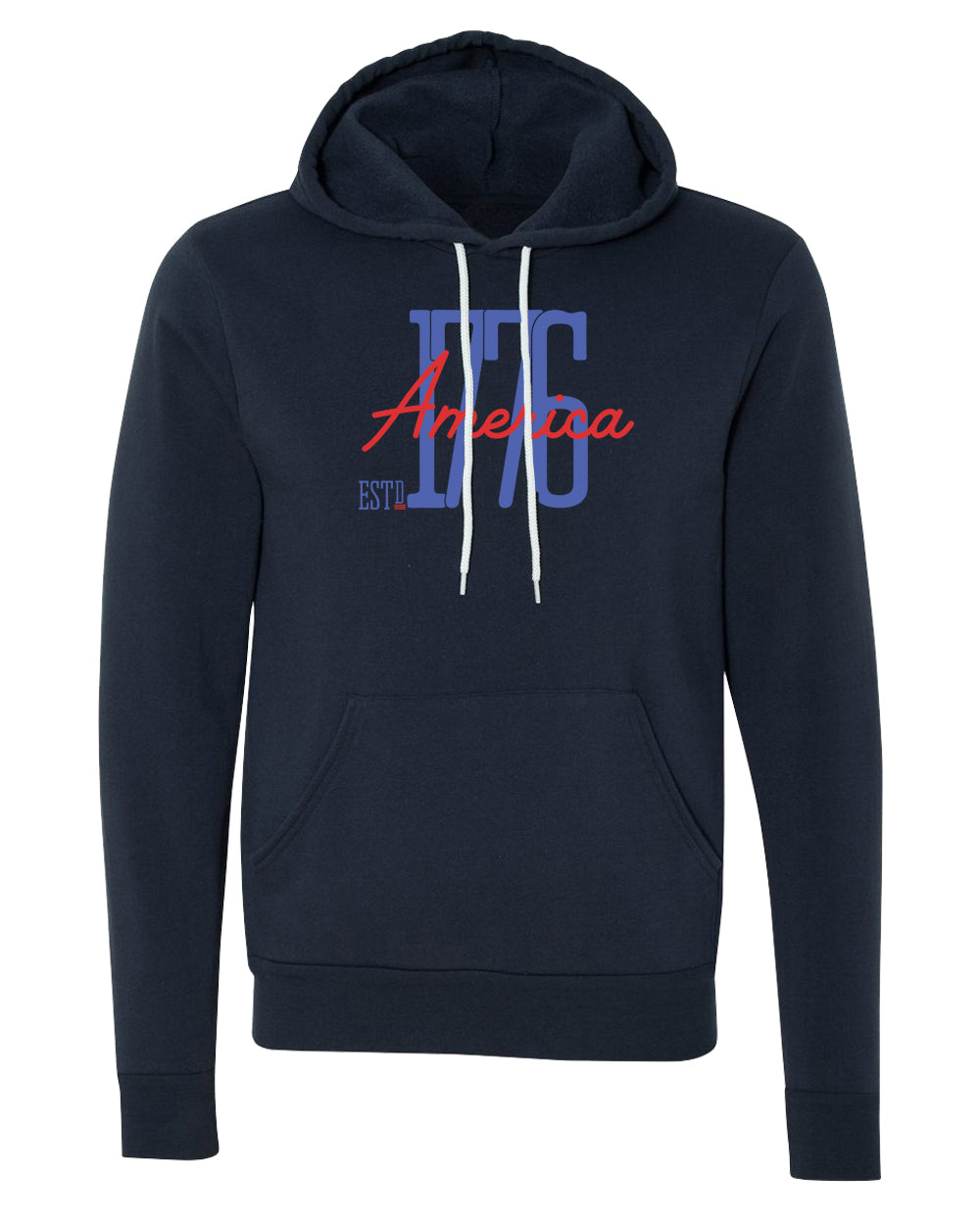 Sweater - America Est 1776 Patriotic Sweatshirts, 4th Of July Hoodies, USA Sweatshirts