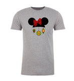 Mouse Ears + Bow & Ornaments Mens T Shirts