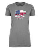 American Flag Bearica Womens T Shirts