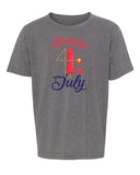 Shirt - Happy 4th Of July T-shirt, Graphic Shirts, Kids 4th Of July Shirts