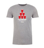 Shirt - Stacked Red Party Cups With Custom Name-Family Reunion Men's T-shirts