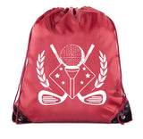 Accessory - Mato & Hash Golf Bags, Drawstring Golf Bags For Leagues, Parties And More! - Emblem