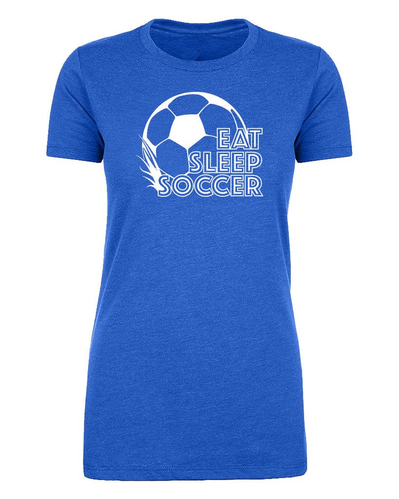 Shirt - Eat Sleep Soccer Woman's Soccer T-shirts, Graphic T-shirts
