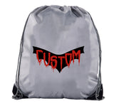 Accessory - Custom Vampire Drawstring Bags, Halloween Candy Bags, Halloween Party Cinch Bags