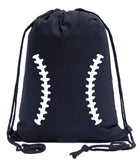Ball Laces Cotton Drawstring Bag