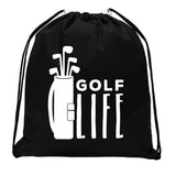 Accessory - Mato & Hash Mini Drawstring Golf Bags | Golf Favor Bags For Leagues And Parties - Golf Life