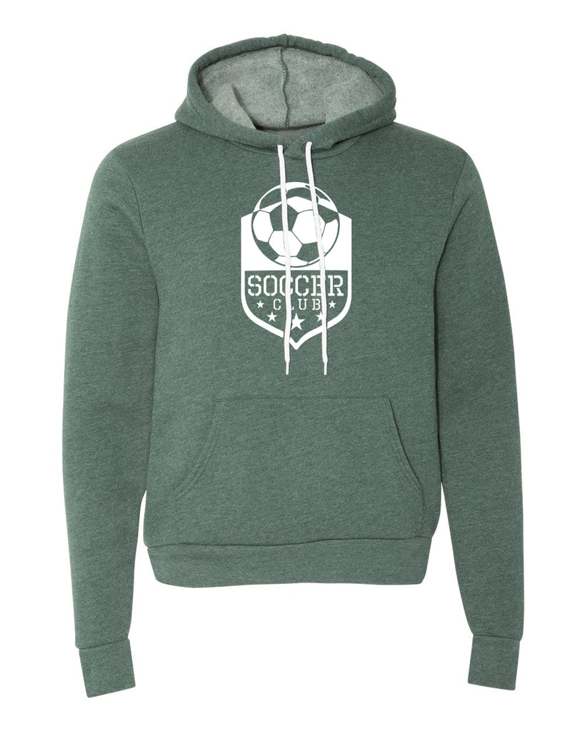 Sweater - Soccer Club, Soccer Hoodies, Graphic Soccer Hoodies