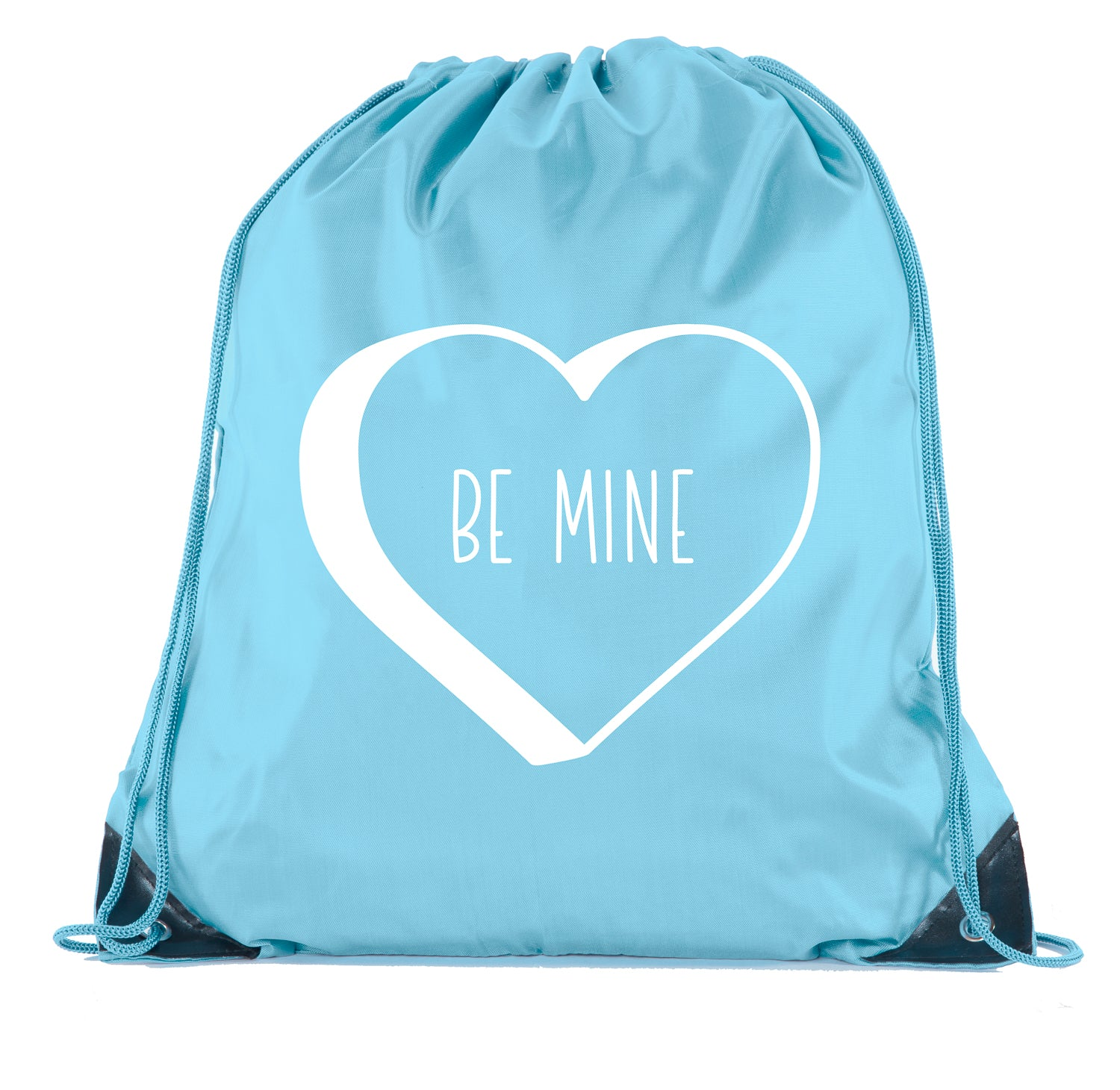 Accessory - Valentine's Day Bags, Drawstring Cinch Backpacks, Valentines Day Gift Bags - Be Mine