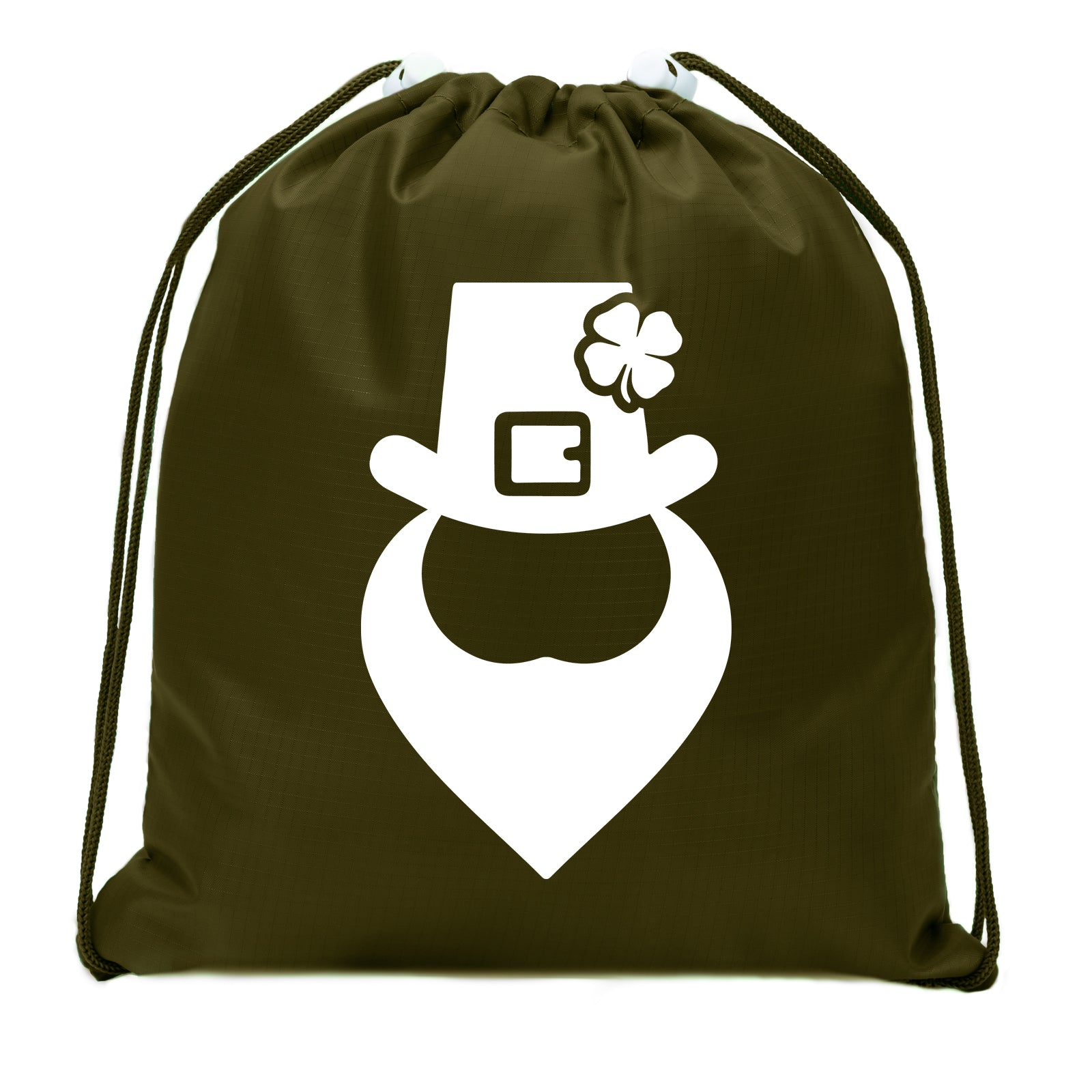 Accessory - St Patrick's Day Goodie Bags, Mini Drawstring Cinch Sacks, Small Gift Bags - Leprechaun