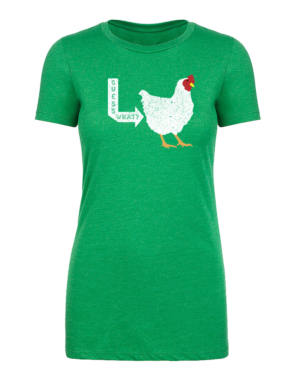 Shirt - Guess What, Chicken Butt Funny Ladies T-shirts, Sarcastic T-shirts For Women