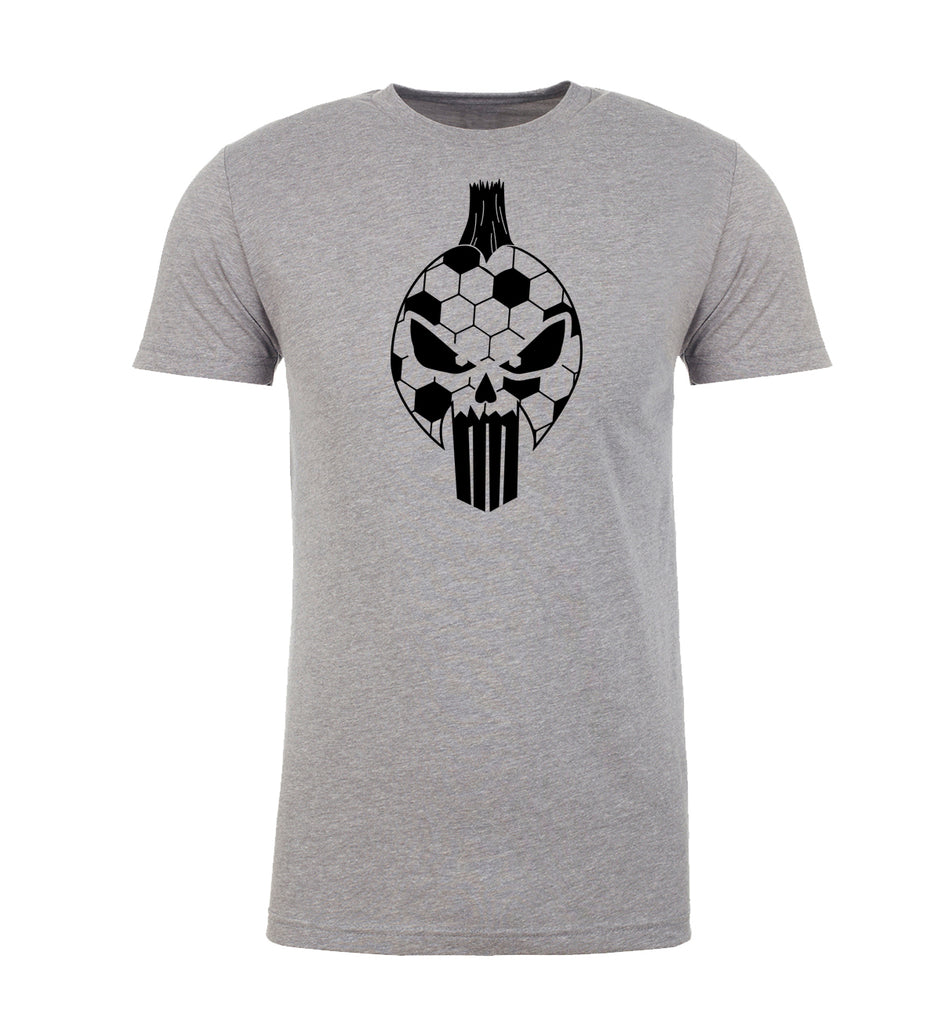 Shirt - Punisher Soccer Head, Men's Soccer Shirts, Graphic Soccer Shirts