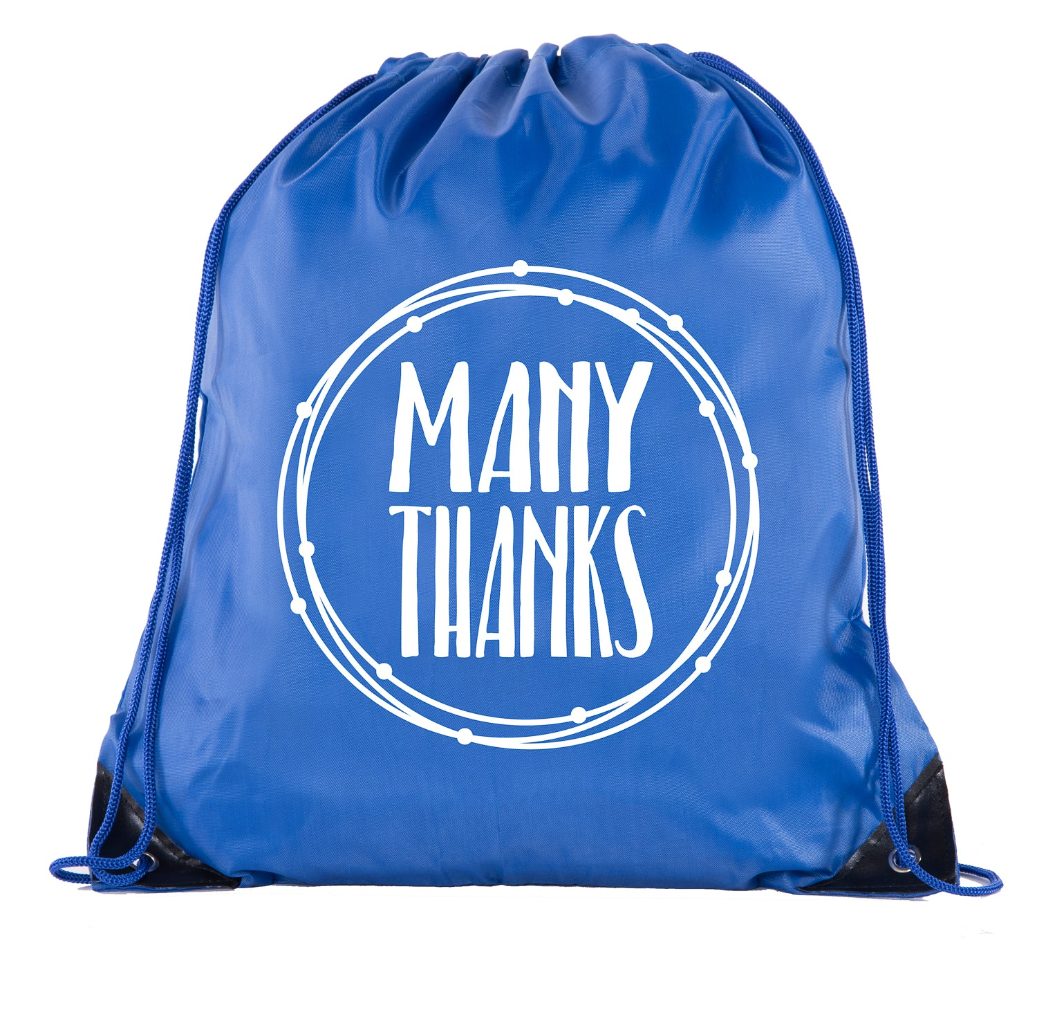 Accessory - Thank You Favor Bags, Reusable Drawstring Gift Bags - Circle