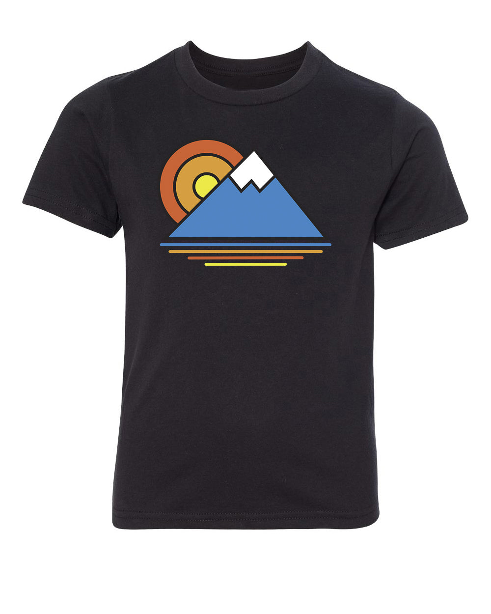 Shirt - Sunset Mountain T-shirts, Women's Outdoor Shirts, Outdoor Life T Shirts
