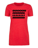 Shirt - Goal! Women's Funny Soccer T-shirts, Soccer Graphic Shirts