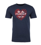 Shirt - Family Heart With Custom Name And Date - Family Reunion Men's T-shirts