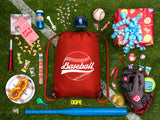 Accessory - Mato & Hash Boys Drawstring Backpack Baseball Bags 1-10 Pack Bulk Options - Baseball