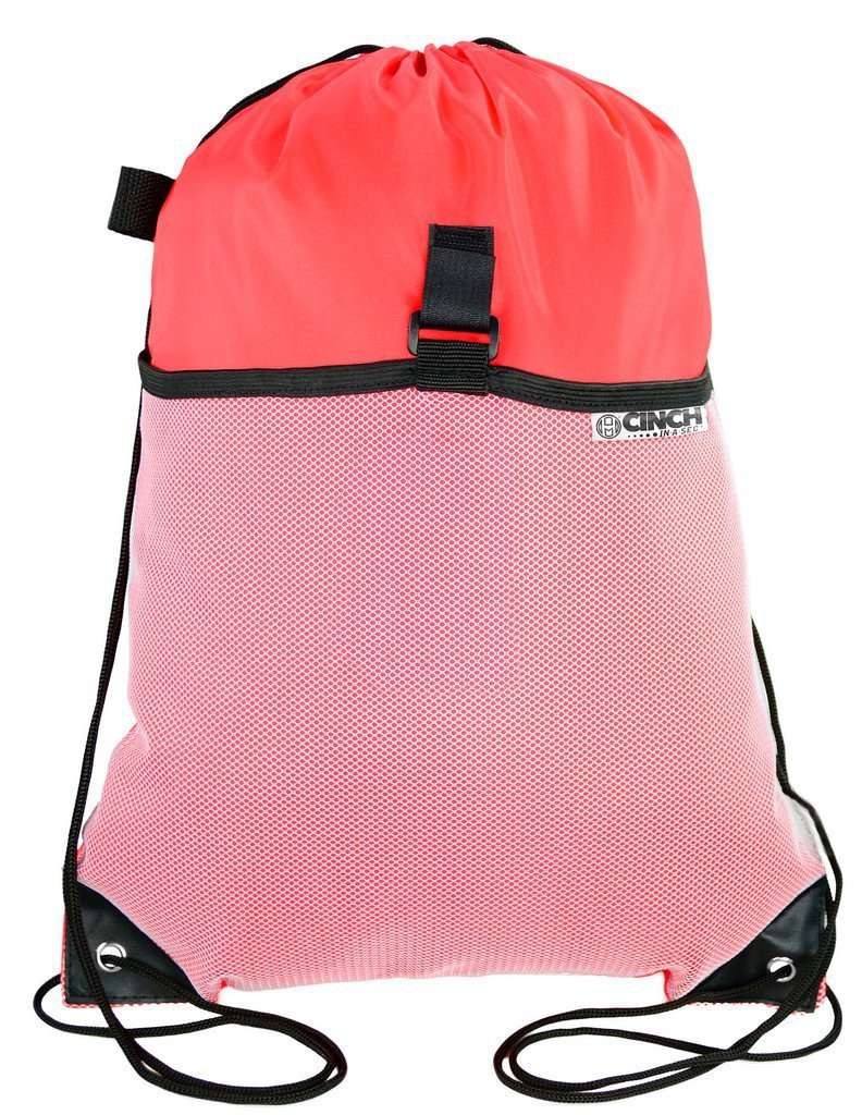 Accessory - Lightweight Packable Drawstring Backpack| Reusable Expanding Cinch Bags- Cinch In A Sec™!