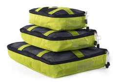 Accessory - Packing Cubes For Travel - Luggage Organizer - 3 Piece Set - By Mato & Hash